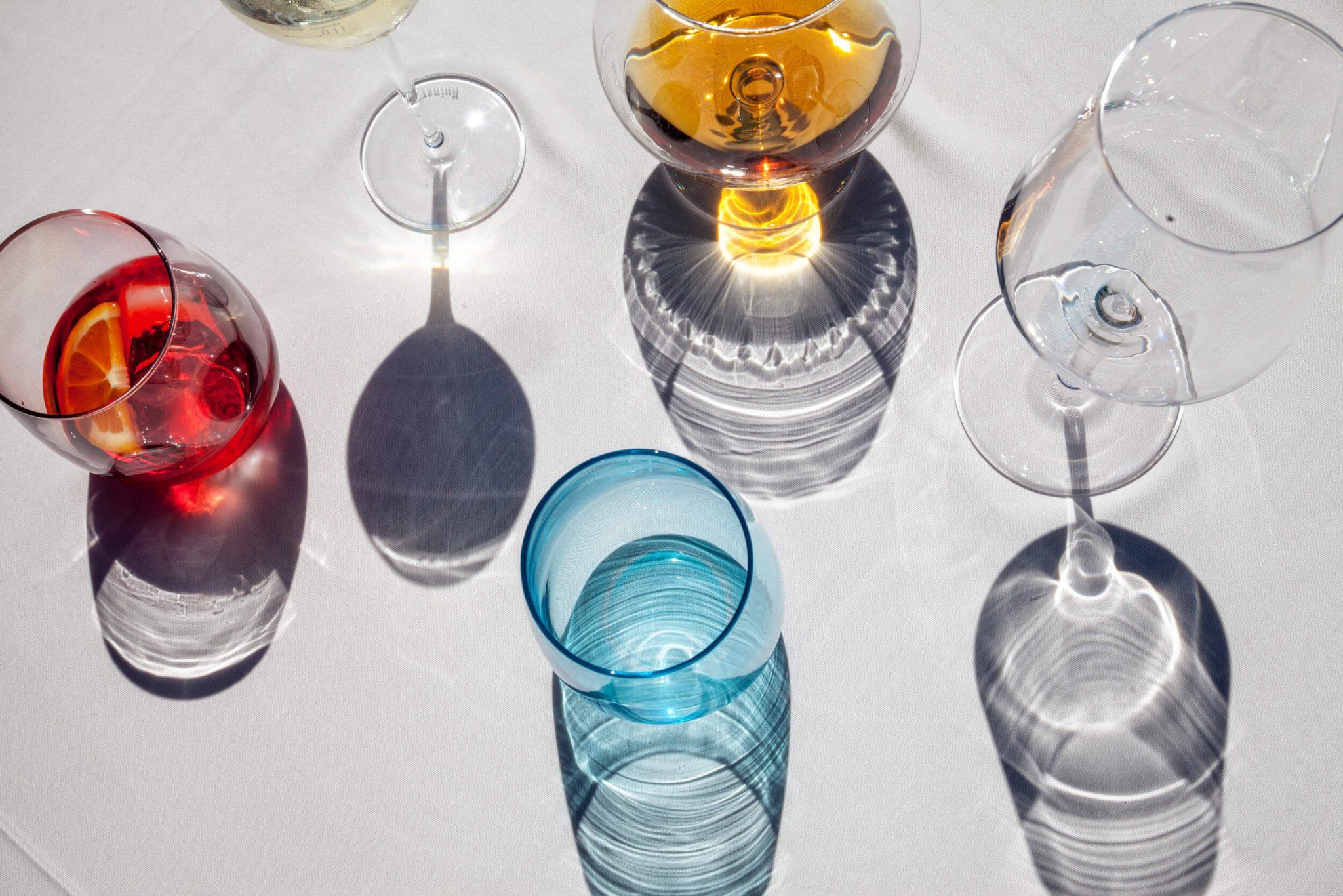 Bodegón de copas